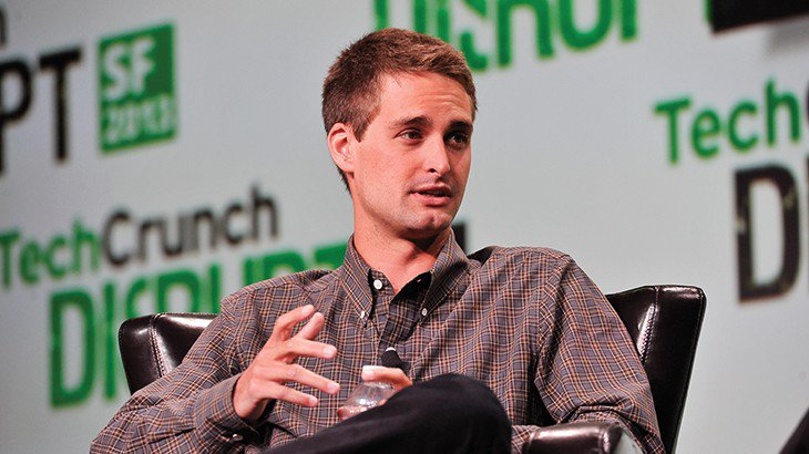 Photo of Evan Spiegel